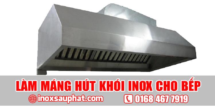 Dịch vụ làm hệ thống chụp hút khói inox bếp gia đìnhTPHCM